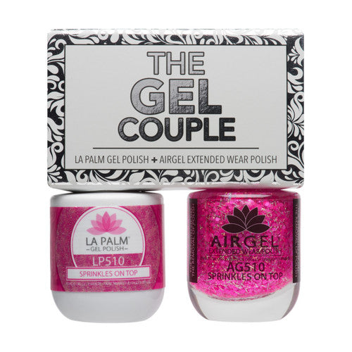La Palm Gel Couple Duo - 14 mL (Sprinkles On Top - TGC510)