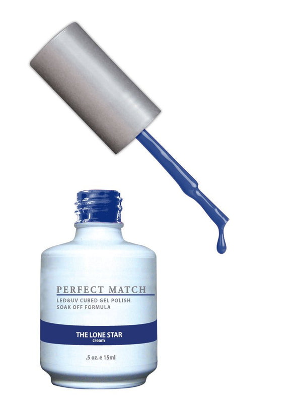 LeChat Perfect Match Nail Polish - 0.5 Oz (The Lone Star - PMS139)