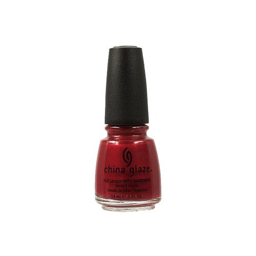 China Glaze Lacquer - 14 mL (Go Crazy Red - CG70259)