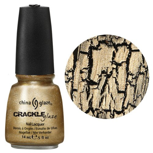 China Glaze Lacquer - 14 mL (Tarnished Gold - CG80761)