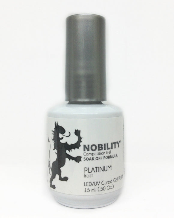 LeChat Nobility Gel Polish - 15 mL (Platinum - NBGP08)