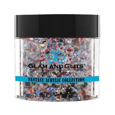 Glam And Glits Fantasy Acrylic Powder - 1 Oz (Ultra Violence - FAC509)