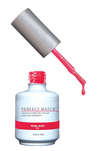 LeChat Perfect Match Nail Polish - 0.5 Oz (Pearl Rose - PMS122)