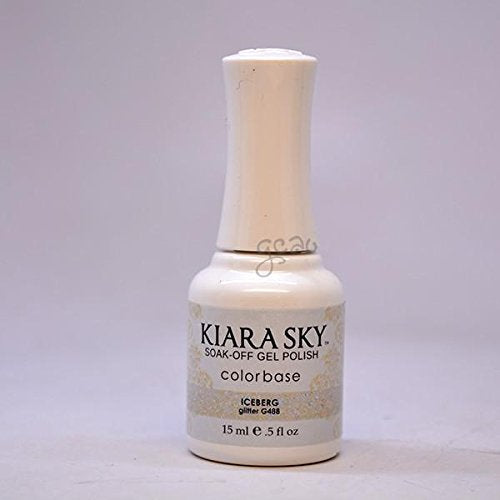 Kiara Sky Gel Soak-Off Gel Polish - 15 mL (Iceberg - KSG488)