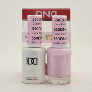 DND Gel & Matching Polish - Duo (Coral Castle, FL - DD550)