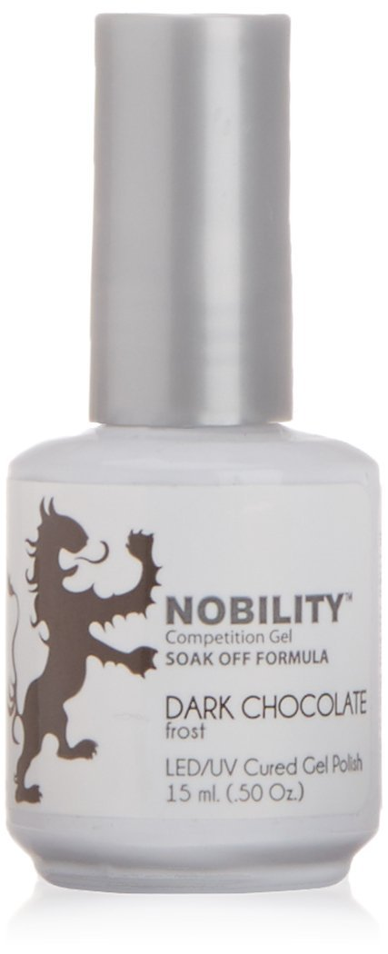 LeChat Nobility Gel Polish - 15 mL (Dark Chocolate Frost - NBGP40)