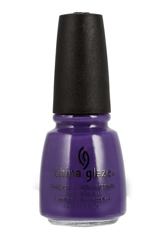 China Glaze Lacquer - 14 mL (Grape Pop - CG80930)