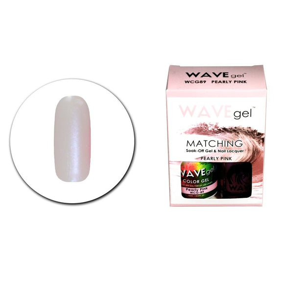 Wave Gel Matching Duo (Pearly Pink - WCG89)