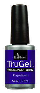 Ez Flow TruGel LED/UV Gel Polish - 14 mL (Purple Fever - EZTG42473)