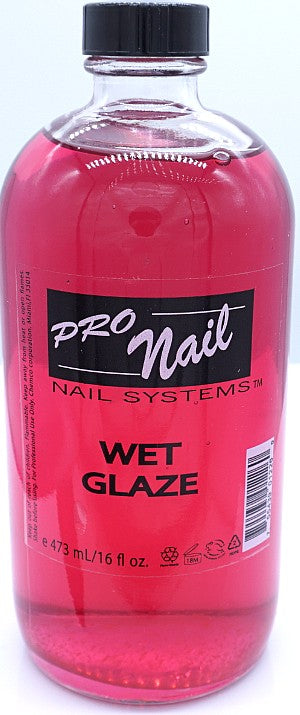 ProNail Wet Glaze top coat- 16oz