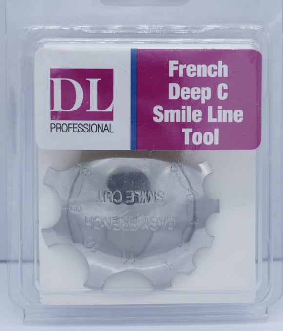 French Deep C Smile Line Tool