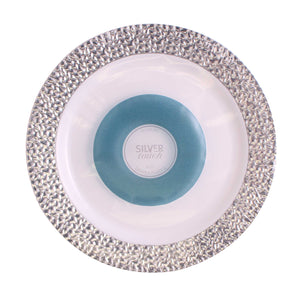 10 pieces Dinner Plate - Silver Touch