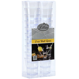 Clear 2 oz High Ball Shot Cup