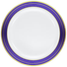 "Lillian Blue Magnificence 10.25"" Plate"