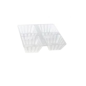 Clear Big 4 Sections Tray