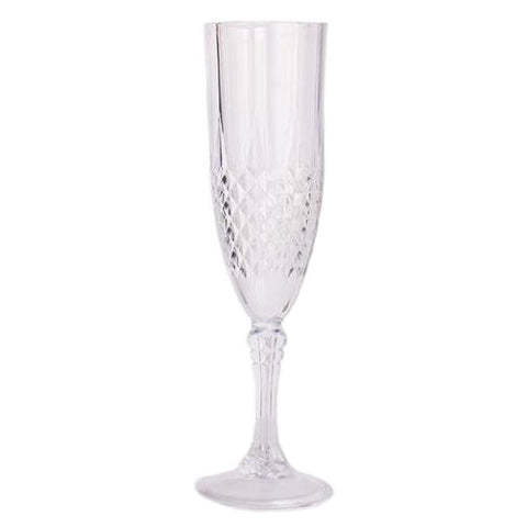 Crystal-Like Champagne Flutes