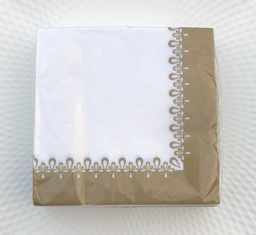 Precious Gold Lunch Napkin