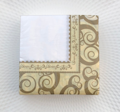 Gold Medley Lunch Napkin