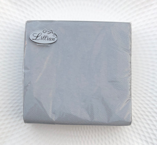 Solid Silver Lunch Napkin