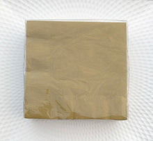 40 pieces Solid Napkin - Gold