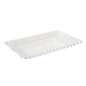 "12"" x 18"" Clear Serving Tray"