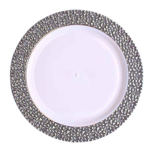 "Silver Touch 10.25"" Plate"