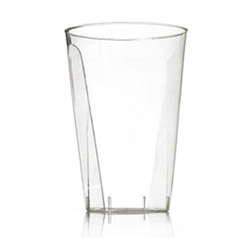 Clear 10 oz Square Base Tumbler