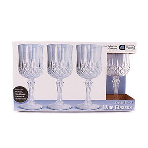 Crystal-Like Wine Glasses