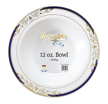 Signature Blue 12 oz Bowl