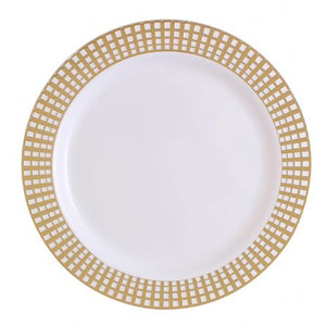 10 pieces Dinner Plate - Signature Gold