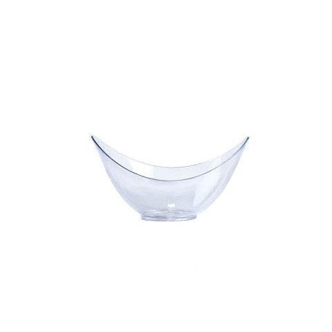 Mini Clear Medium Oval Bowl