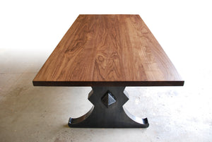 "THE BROOKLYN ""X"" DINING TABLE"