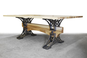 WHITE ASH TRUSS TABLE