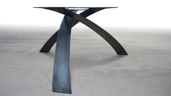 CIRCULAR EQUILIBRIUM DINING TABLE