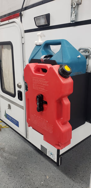 Four Wheel Camper Jerry Can Holder