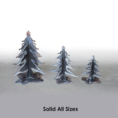 Steel Christmas Trees