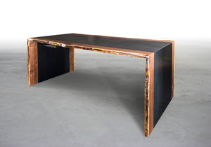 THE LIVE EDGE STEEL DESK