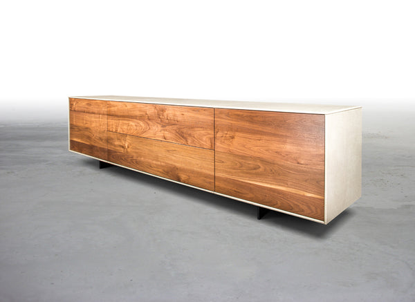 THE VAIL LEATHER CONSOLE