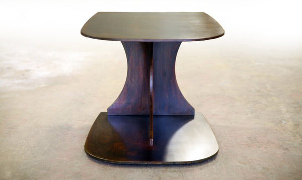 THE IRONBOUND END TABLE