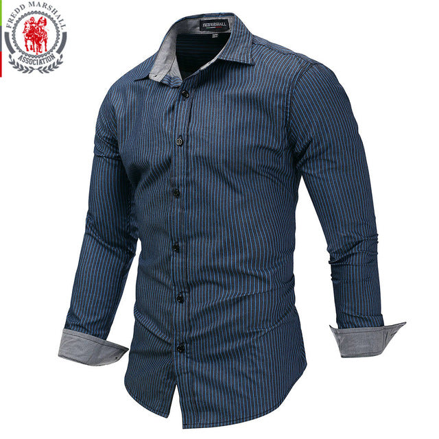 c4750d1c01 Fredd Marshall Camisa hombres – Musthave-Collection®