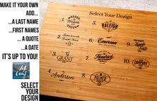 Wine Presentation Board Personalized - Four Styles and Gift Sets Available
