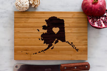 Alaska State Engraved Cutting Board, Personalized