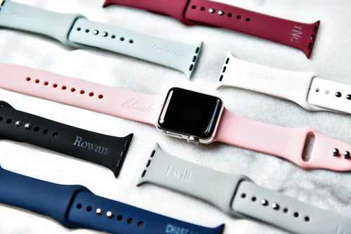 Personalized Name or Monogram Apple Watch Bands - All Sizes