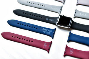 Personalized Name Or Monogram Apple Watch Bands All Sizes Left Coast Original