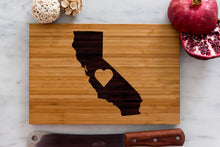 California State Engraved Cutting Board, Personalized