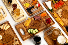Personalized Charcuterie Planks and Beer Flights - 4 Styles and Gift Sets Available