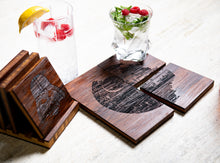 Star Wars Inspired Coasters with Optional Coaster Holder by Left Coast Original