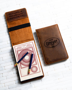 Hero Inspired Golf Scorecard & Yardage Book Holder The Copperhead by Left Coast Original