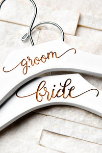 Wedding Hanger Contour Curved (Quantity Discount)