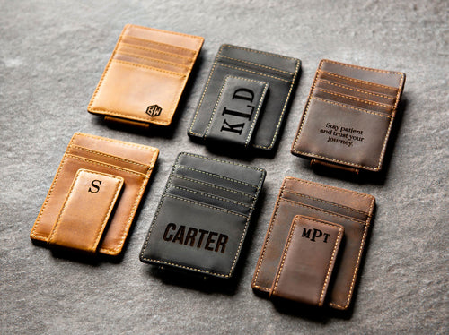 The Left Coast Leather Magnetic Money Clip
